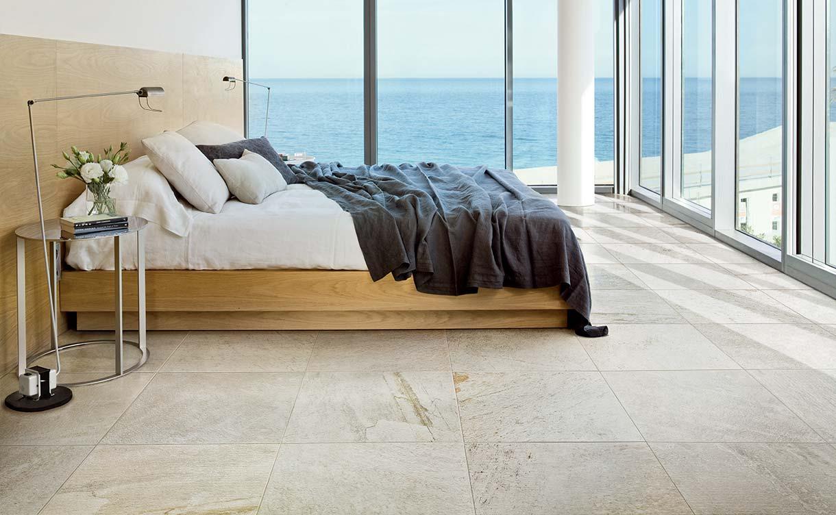 Mit Den Florim Fliesen Wird Das Schlafzimmer Zu Einem Raum, In Dem  Wohlbefinden Und Entspannung In Allen Formen Respektiert Wird.