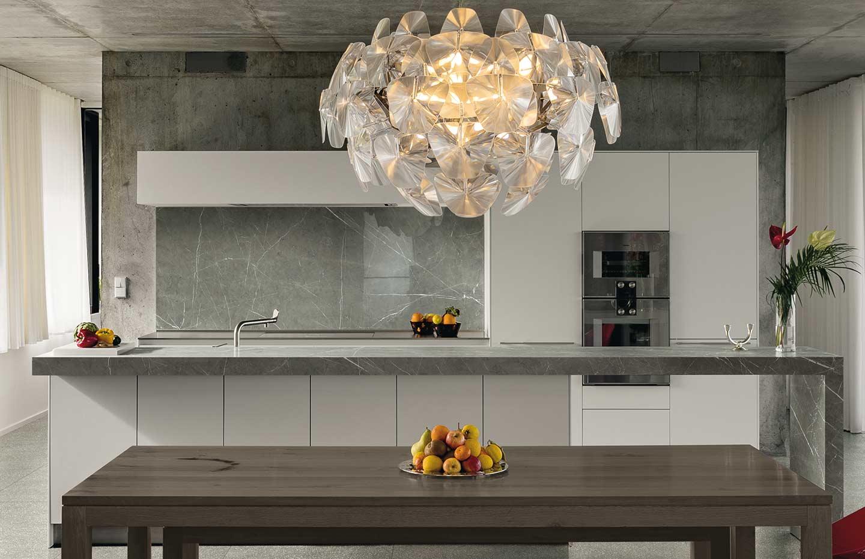 Piano Cucina Gres Opinioni porcelain kitchen countertops | florim stone
