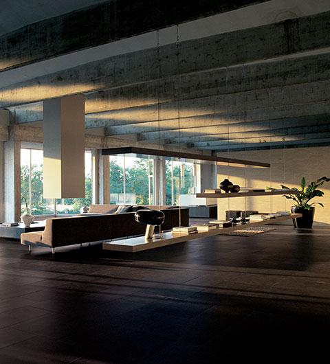 soggiorno moderno Pietre/2