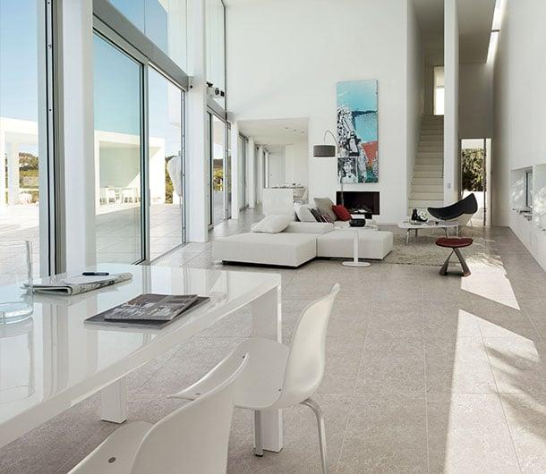 soggiorno luminoso Floortech