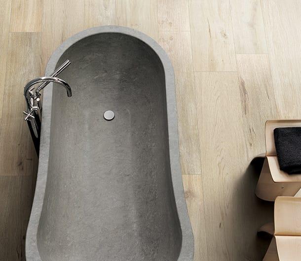 piastrelle bagno effetto legno Planches de Rex