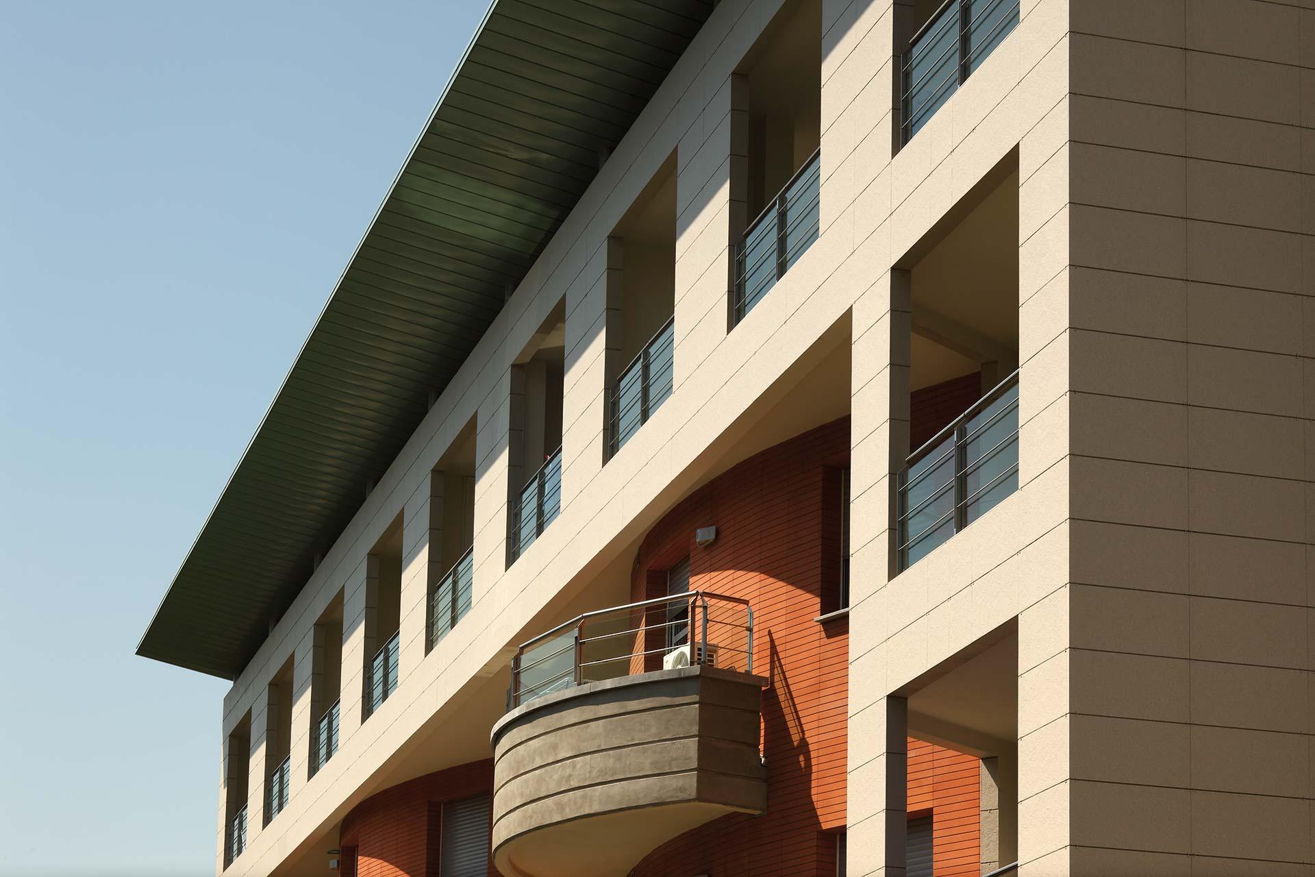 Great facciate incollate with facciate case rustiche for Facciate moderne
