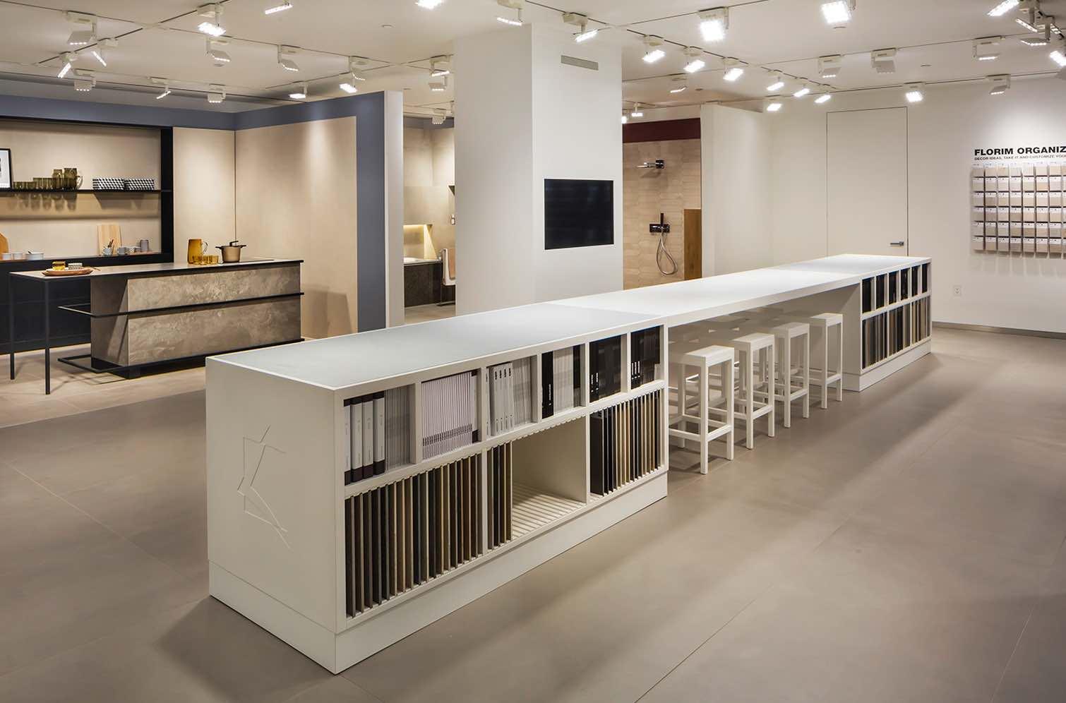 Florim flagship store new york