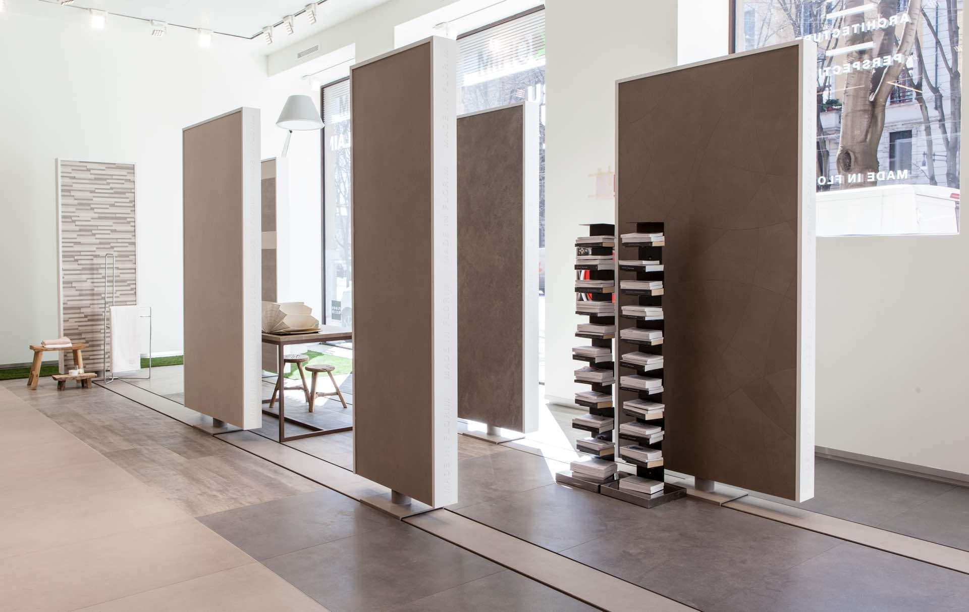 Florim flagship store milano for Store design milano