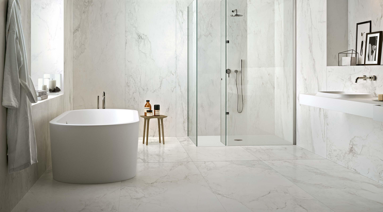 Piastrelle bagno in gres porcellanato florim ceramiche s - Design bagno piastrelle ...